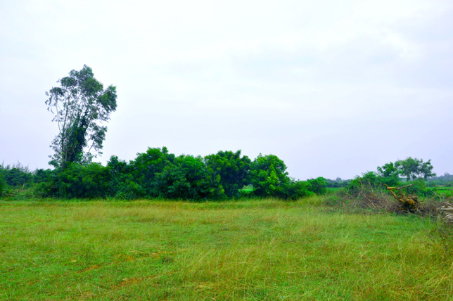 Right Front Land view of Our ashram in South India