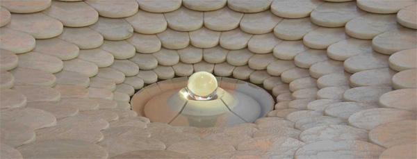 Lotus Urn Auroville