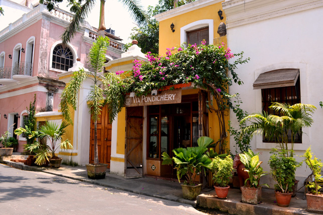 French architecture in Pondicherry