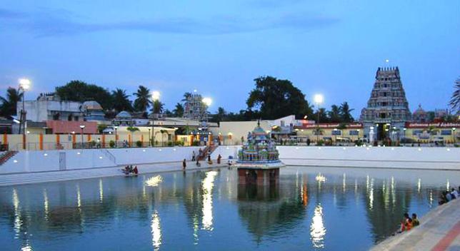 Villianur Temple in Pondicherry