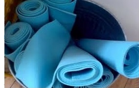 Re-Use Your Old Yoga Mats