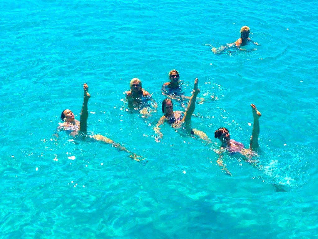 Boat trip swim 4